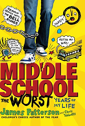 9780316101875: Middle School, The Worst Years of My Life