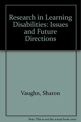 9780316103053: Research in Learning Disabilities: Issues and Future Directions