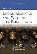 9780316103664: Legal Research & Writing Paralegal
