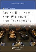 9780316103664: Legal Research & Writing Paralegal (Paralegal Series)