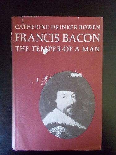 9780316103831: Francis Bacon: The Temper of a Man