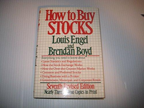 9780316104395: How to buy stocks