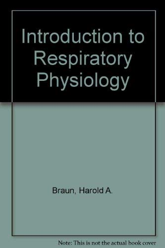 9780316106993: Introduction to Respiratory Physiology
