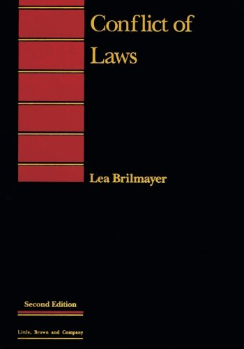 9780316108935: Conflict of Laws (Introduction to Law Series)