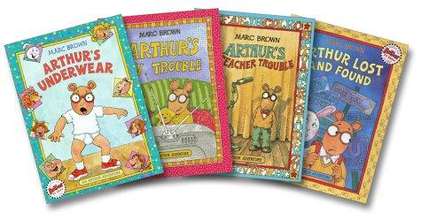 9780316109079: Arthur's Adventure's Four-Book Set (Arthur's Underwear, Arthur's TV Trouble, Arthur's Teacher Trouble, Arthur's Lost and Found)