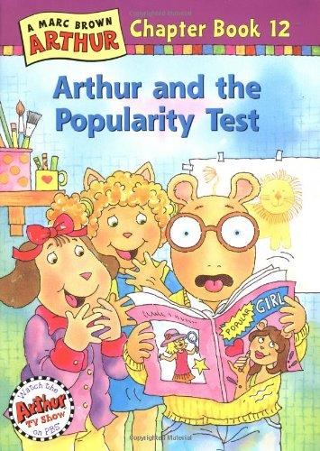 9780316115452 Arthur And The Popularity Test An Arthur Chapter