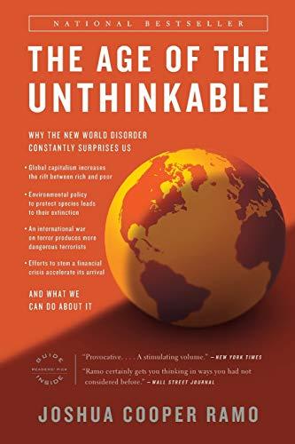 The Age of The Unthinkable: Joshua Cooper Ramo