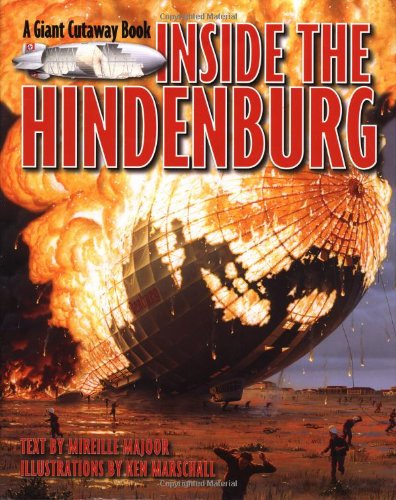9780316123860: Inside the Hindenburg (Giant Cutaway Book)