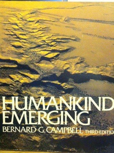 Humankind emerging: Campbell, Bernard G