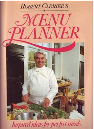Robert Carrier's Menu Planner (0316129771) by Robert Carrier