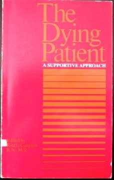 9780316132169: The Dying Patient: A Supportive Approach