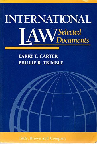 9780316133005: International Law: Selected Documents (Supplement)