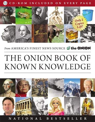 9780316133241: The Onion Book of Known Knowledge: A Definitive Encyclopaedia Of Existing Information