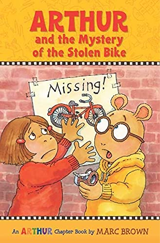 9780316133630: Arthur And The Mystery Of The Stolen Bike