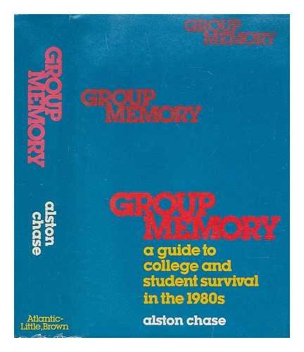 9780316138178: Group memory: A guide to college and student survival in the 1980s