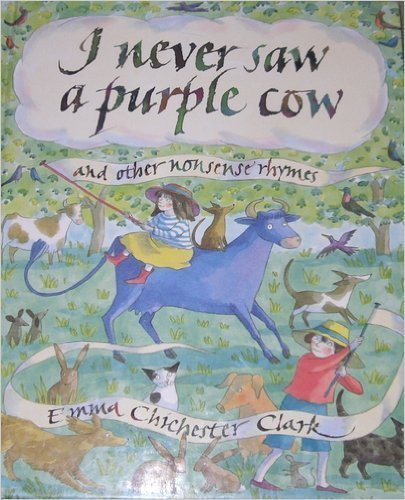 9780316145008: I Never Saw a Purple Cow and Other Nonsense Rhymes
