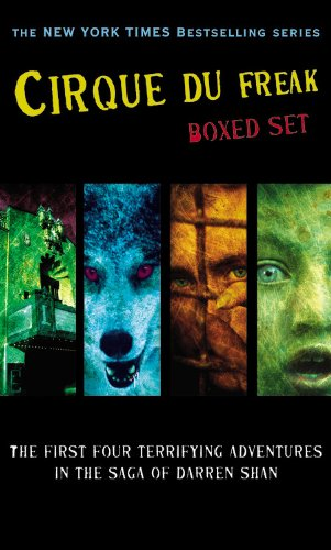 Cirque du Freak Boxed Set 1: A Living Nightmare / The Vampire's Assistant / Tunnels ...