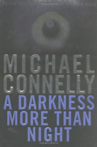 A Darkness More Than Night. { SIGNED.}. { FIRST EDITION/ FIRST PRINTING.}. { with PROVENANCE. }