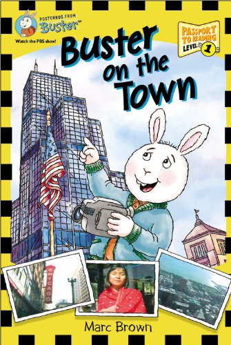9780316158824: Postcards from Buster: Buster on the Town (L1) (Passport to Reading)