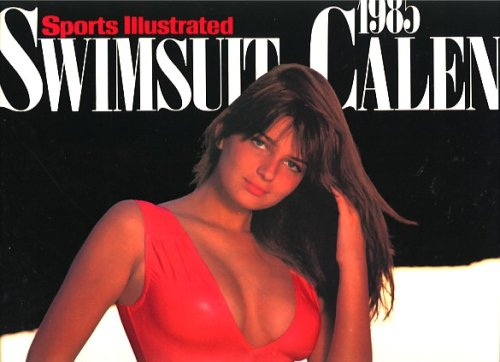 9780316165556: Sports Illustrated 1985 Swimsuit Pin-Up Calendar Paulina Porizkova cover