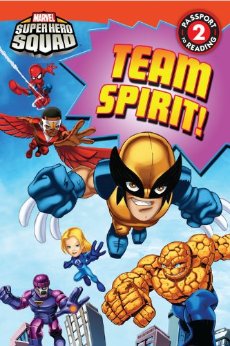 9780316176293: Team Spirit! (Marvel Super Hero Squad Readers)