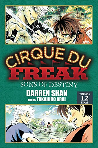 9780316182836: Cirque Du Freak: The Manga, Vol. 12: Sons of Destiny