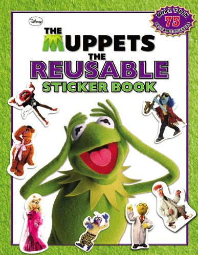 9780316182997: The Muppets: The Reusable Sticker Book