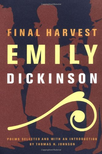 9780316184151: Final Harvest: Poems