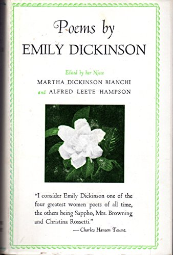 9780316184175: Poems by Emily Dickinson