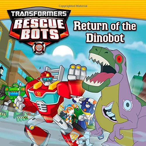 9780316188678: Transformers Rescue Bots: Return of the Dino Bot