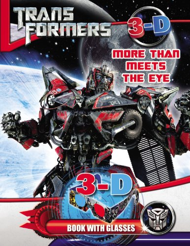 9780316188760: Transformers More than Meets the Eye: 3D Book with Glasses