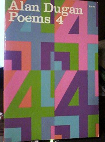 Poems 4 (SIGNED): Dugan, Alan