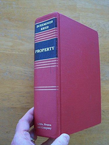 9780316195102: Property (Law School Casebook Series)