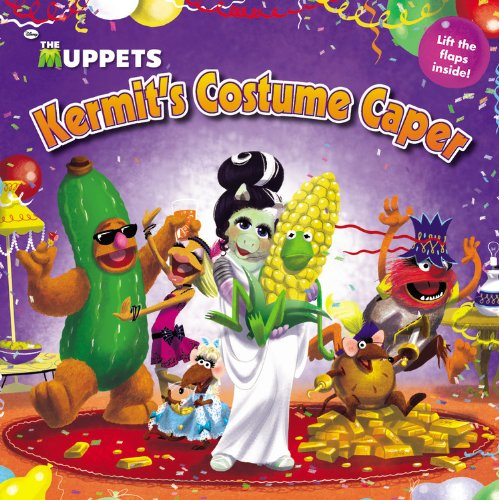9780316201308: The Muppets: Kermit's Costume Caper