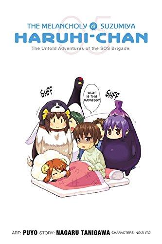 9780316209458: The Melancholy of Suzumiya Haruhi-chan, Vol. 5 - manga
