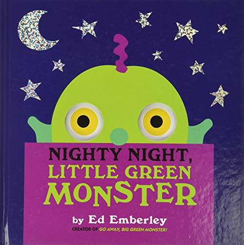 9780316210416: Nighty Night, Little Green Monster