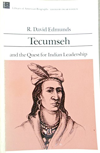 9780316211697: Tecumseh and the Quest for Indian Leadership (The Library of American biography)