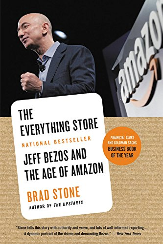 The Everything Store 9780316219280  An immersive play-by-play of the company's ascent.... It's hard to imagine a better retelling of the Amazon origin story.  -- Laura Bennett, New Republic Amazon.com's visionary founder, Jeff Bezos, wasn't content with being a bookseller. He wanted Amazon to become the everything store, offering limitless selection and seductive convenience at disruptively low prices. To do so, he developed a corporate culture of relentless ambition and secrecy that's never been cracked. Until now. Brad Stone enjoyed unprecedented access to current and former Amazon employees and Bezos family members, and his book is the first in-depth, fly-on-the-wall account of life at Amazon. The Everything Store is the book that the business world can't stop talking about, the revealing, definitive biography of the company that placed one of the first and largest bets on the Internet and forever changed the way we shop and read.