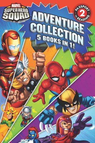 9780316221979: Super Hero Squad Adventure Collection (Passport to Reading, Level 2)