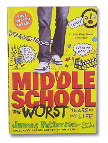 9780316226158: Middle School, the Worst Years of My Life (Scholastic Edition)