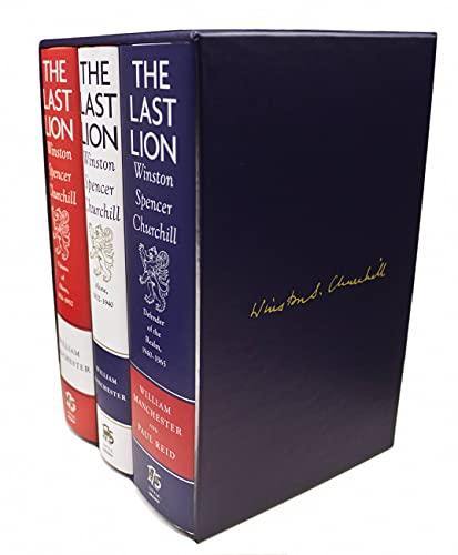 The Last Lion Box Set: Winston Spencer Churchill, 1874 - 1965: William Manchester; Paul Reid