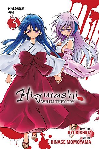 9780316229449: Higurashi When They Cry: Massacre Arc, Vol. 3 - manga