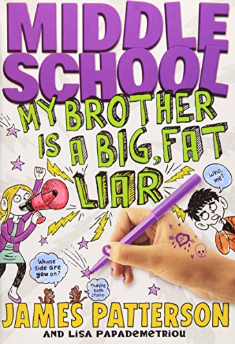 9780316232708: Middle School: My Brother is a Big. Fat Liar(Chinese Edition)