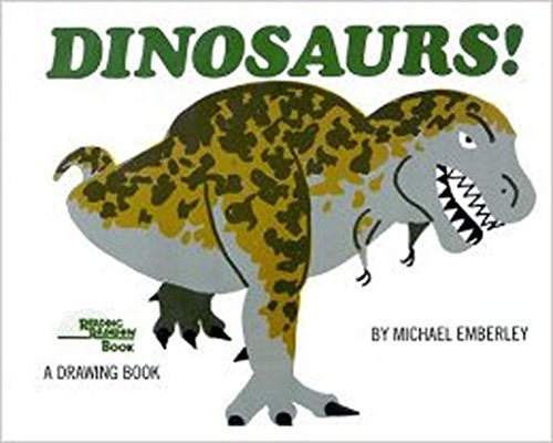 9780316234177: Dinosaurs!: A Drawing Book