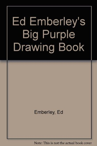 9780316234221: Ed Emberley's Big Purple Drawing Book