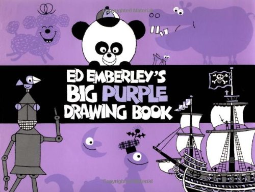 9780316234238: Ed Emberley's Big Purple Drawing Book