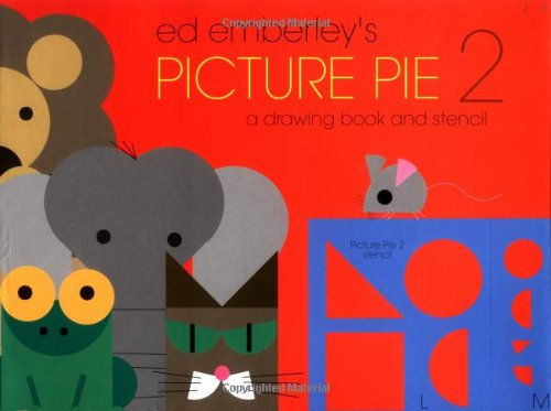 9780316234580: Ed Emberley's Picture Pie 2: A Drawing Book and Stencil