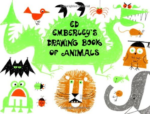 9780316234757: Ed Emberley's Drawing Book of Animals