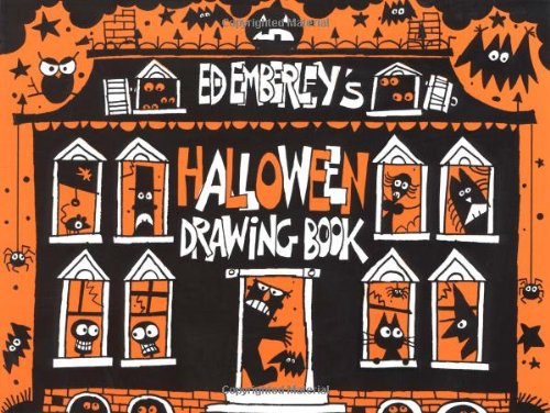 9780316234818: Ed Emberley's Halloween Drawing Book