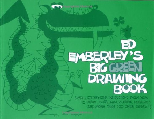 9780316235969: Ed Emberley's Big Green Drawing Book